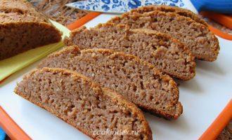 Гречневый хлеб с орехами - нарезка