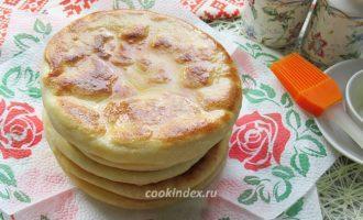 Хачапури с сыром на сковороде - рецепт