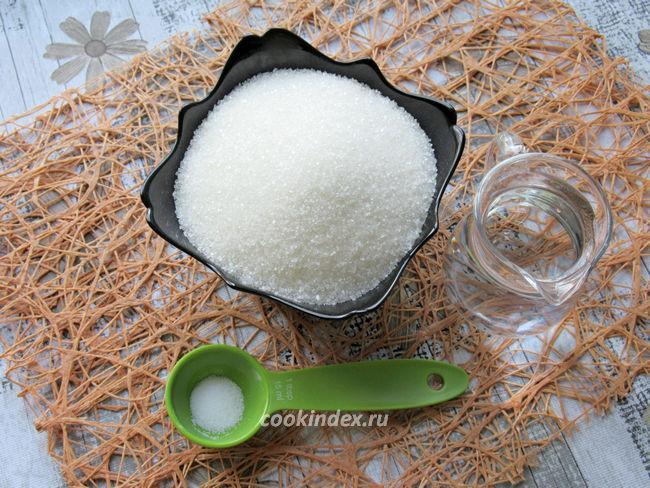 Инвертный сироп - ингредиенты