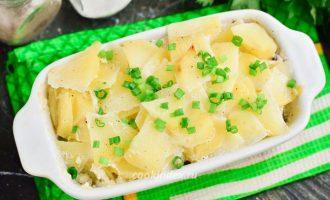 Картофельная запеканка с мясом в духовке - рецепт
