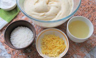 Лимонный кекс - вымешиваем тесто
