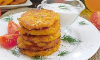 Оладьи из тыквы - рецепт