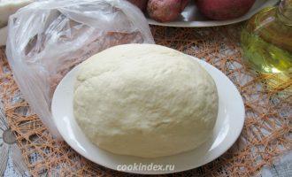 Вареники с картофелем и шампиньонами - тесто на отваре