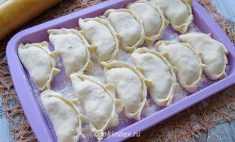 Вареники с картофелем и шампиньонами - начинка с шампиньонами и картошкой - варка