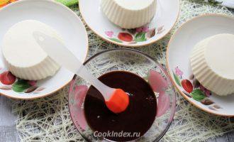 Суфле Птичье молоко покрытое шоколадом