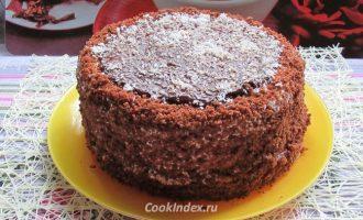 Торт Птичье молоко с манкой - рецепт