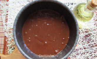 Шоколадный кекс на кефире в духовке