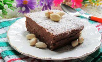 шоколадно-творожная запеканка - рецепт
